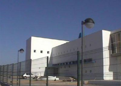 """Mejoras en la instalación eléctrica IES """"Itálica"""" en Santiponce (Sevilla)."""