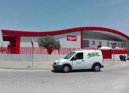 Planta logística Dulcesol en Sevilla
